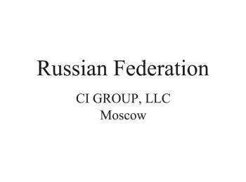 Russian Distributor
