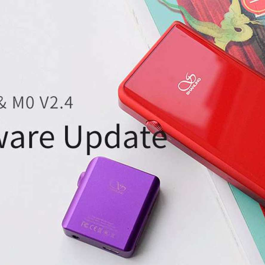 Shanling M0 & M5s firmware update