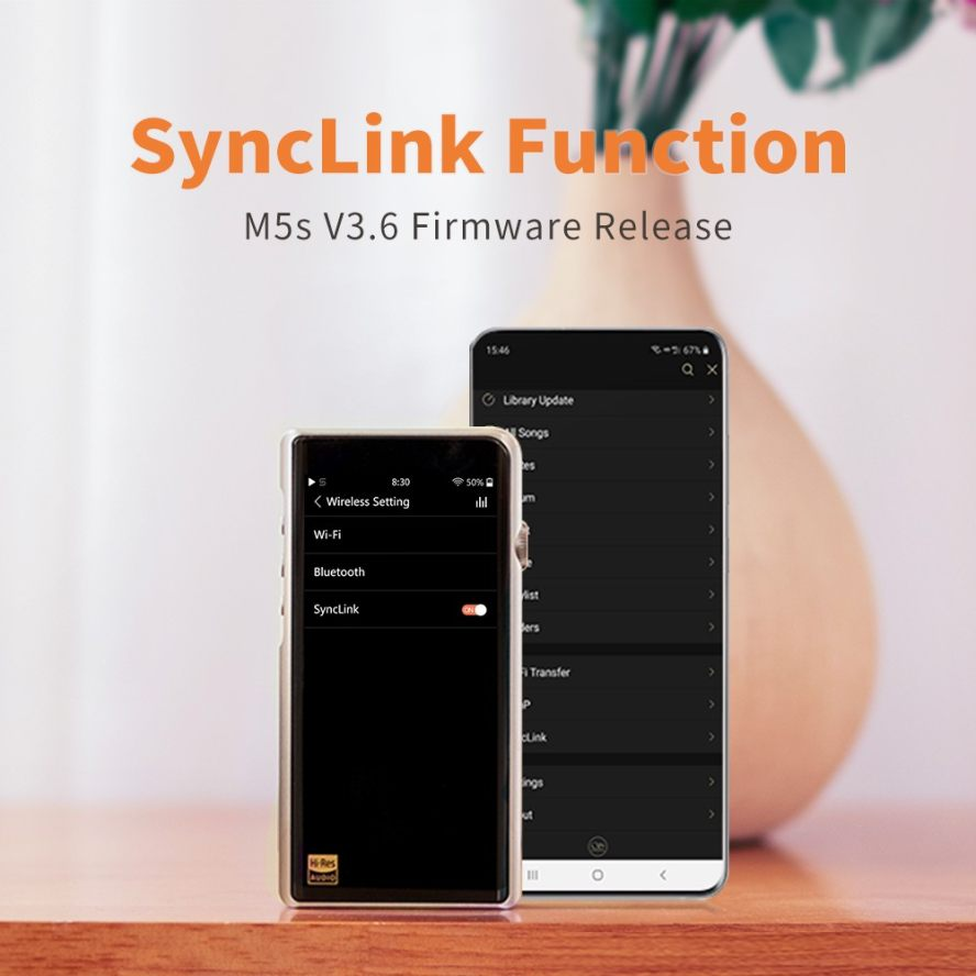 Shanling M5s Firmware V3.6 Update