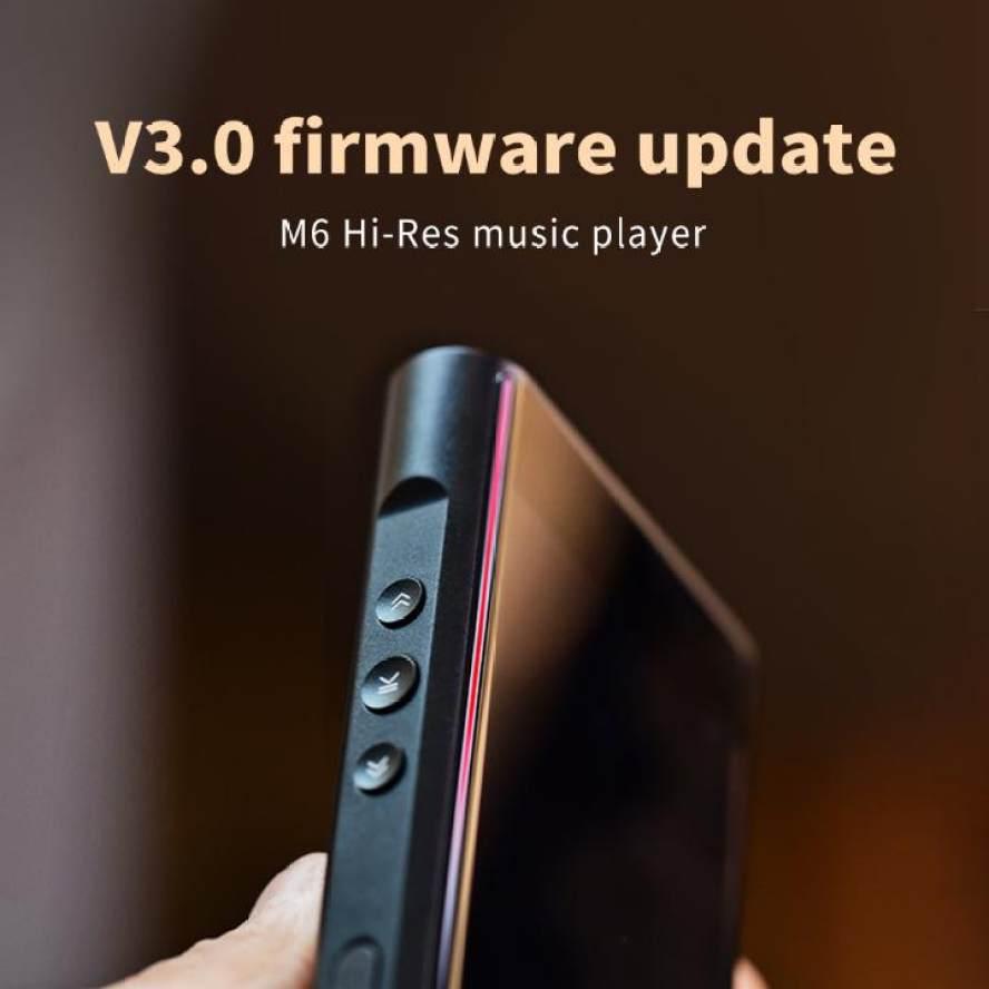 Shanling M6 Firmware V3.0 Update