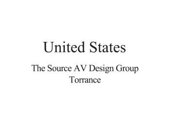 United States Distributor