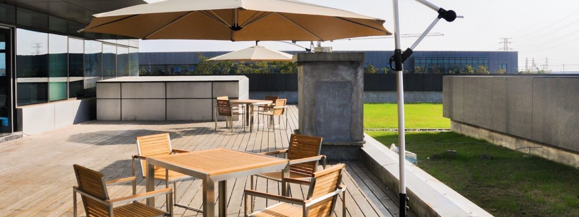 Outdoor patio dining set