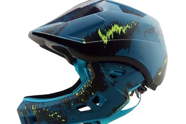 Children's full face helmet
