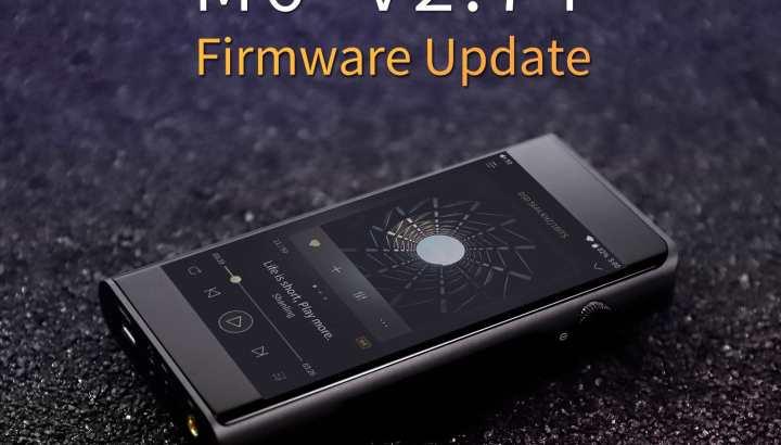 Shanling M6 firmware update V2.74