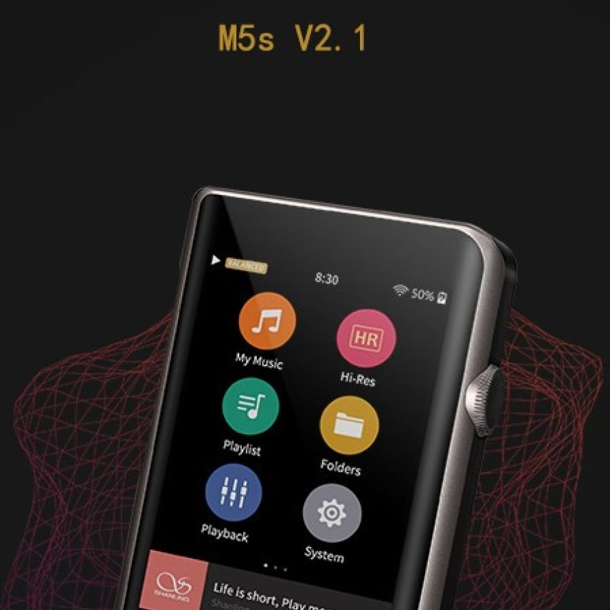 Shanling M5s firmware 2.1
