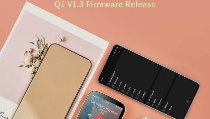 Shanling Q1 Firmware V1.3