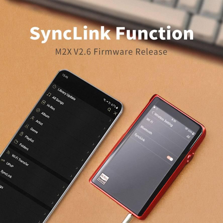 Shanling M2X Firmware V2.6 Update