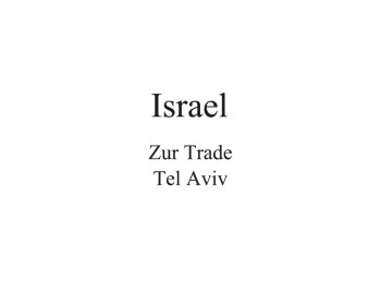 Israel Distributor
