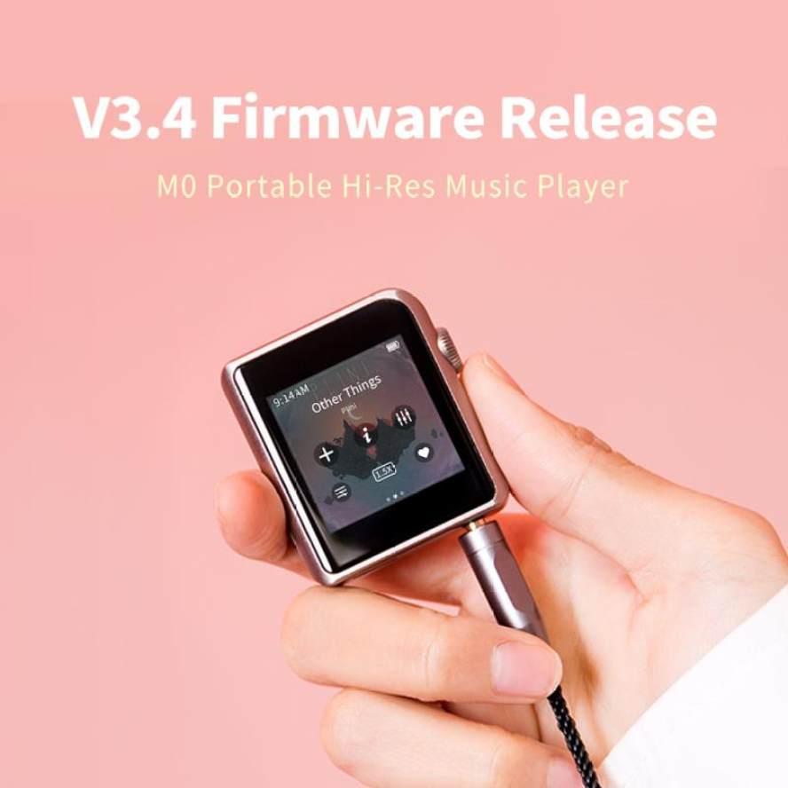 Shanling M0 Firmware V3.3 & V3.4 update